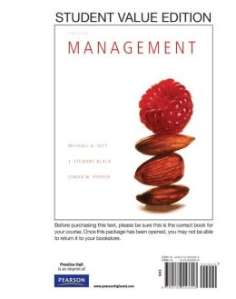 Management, Student Value Edition