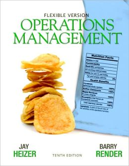 Operations Management Flexible Version with Lecture Guide & Activities Manual Package