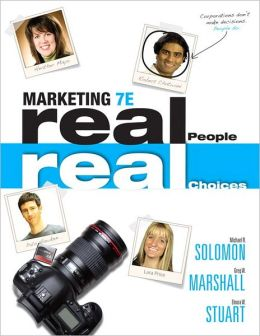 Marketing: Real People, Real Choices and MyMarketingLab with Pearson eText