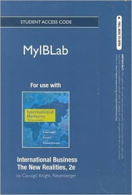 myiblab -- Access Card -- for International Business