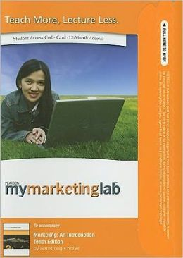 MyMarketingLab Student Access Code for Marketing: An Introduction