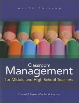 Classroom Management for Middle and High School Teachers