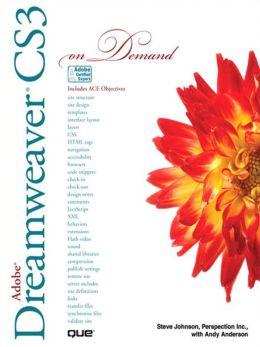 Adobe Dreamweaver CS3 On Demand