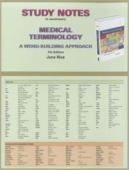 medical terminology notes Study medical terminology -- chapter 1 (part 2) flashcards at proprofs - medical terminology: a living languagefourth editionbonnie f fremgen and suzanne s fruchtchapter 1: introduction to medical terminologythe medical record & healthcare settings.