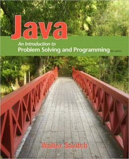 Java: An Introduction to Problem Solving and Programming (2-downloads)