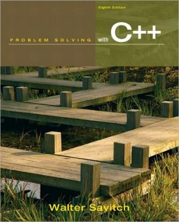 Problem Solving with C++, 8e & MyProgrammingLab with Pearson eText Student Access Code Card for Problem Solving with C++