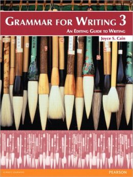 Grammar for Writing 3 (Student Book with Proofwriter)
