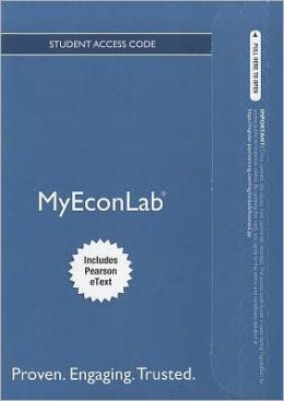 NEW MyEconLab with Pearson eText -- Standalone Access Card -- for Survey of Economics: Principles, Applications and Tools