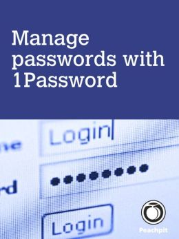 Manage passwords, with 1Password