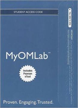 NEW MyOMLab with Pearson eText -- Access Card -- for Principles of Operations Management