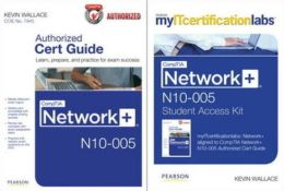 Comptia Network+ N10-005 Cert Guide with Myitcertificationlabs Bundle