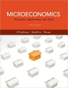 Microeconomics: Principles, Applications and Tools plus NEW MyEconLab with Pearson eText Access Card (1-semester access)