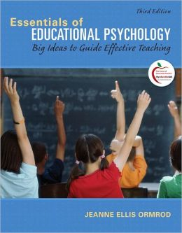 Essentials of Educational Psychology: Big Ideas to Guide Effective Teaching Plus MyEducationLab with Pearson eText -- Access Card Package