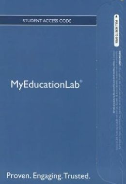 NEW MyEducationLab with Pearson eText -- Standalone Access Card -- for Building Literacy in Secondary Content Area Classrooms