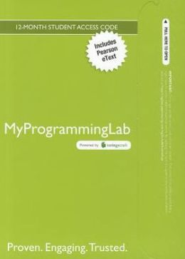 MyProgrammingLab with Pearson eText -- Access Card -- for Starting Out with Python