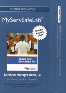 MyServSafeLab with Pearson eText -- Access Card-- for ServSafe ManagerBook