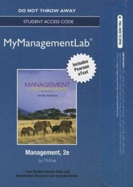 NEW MyManagementLab with Pearson eText -- Access Card -- for Management: A Focus on Leaders