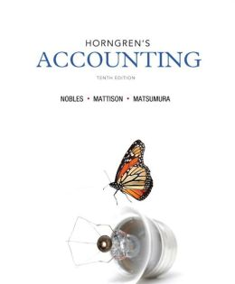 Horngren's Accounting and NEW MyAccountingLab with eText -- Access Card Package