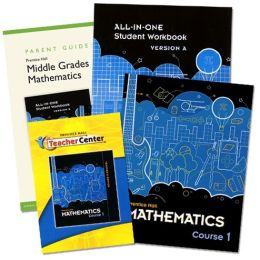 Prentice Hall Mathematics - Course 1 Homeschool Bundle