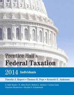 Prentice Hall's Federal Taxation 2014 Individuals