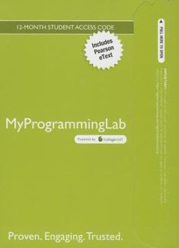 MyProgrammingLab with Pearson eText -- Access Code Card -- for Starting Out with C++: Early Objects