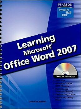 Learning Microsoft Office: Word 2007 -With CD