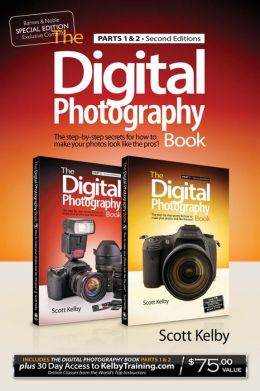 The Digital Photography Book, Parts 1 and 2 (B&N Exclusive Edition, with 1 month of access to Kelby training)