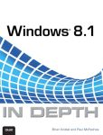 Book Cover Image. Title: Windows 8.1 In Depth, Author: Brian Knittel
