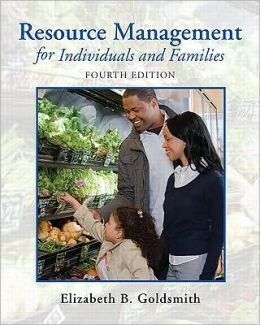 Resource Management for Individuals and Families