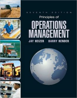 Principles of Operations Management and Student CD & DVD Value Package (includes Study Guide)