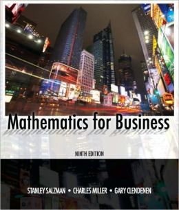 Mathematics for Business (MyMathLab Series)