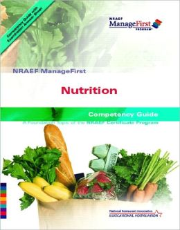 Nutrition : Nraef Manage First: Competency Guide