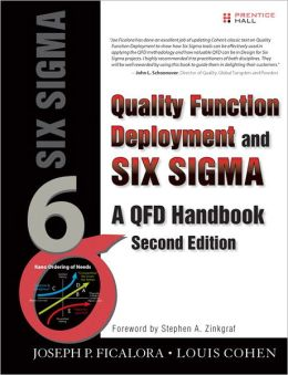 Quality Function Deployment and Six Sigma: A QFD Handbook