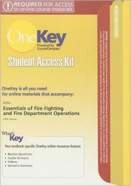 OneKey CourseCompass, Student Access Kit, Essentials of Fire Fighting and Fire Department Operations