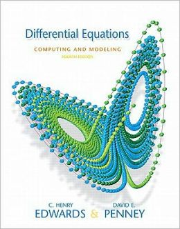 Differential Equations: Computing and Modeling [With Paperback Book]