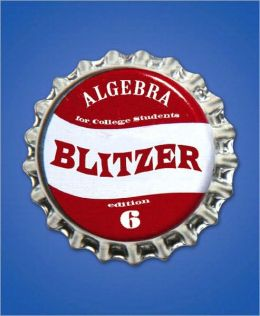 Algebra for College Students [With CDROM]