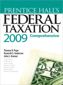 Prentice Hall's Federal Taxation 2009: Comprehensive