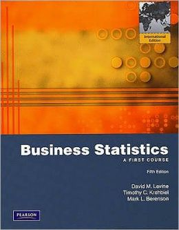 Business Statistics: A First Course.