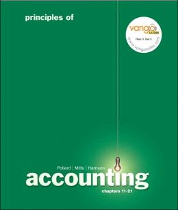 Principles of Accounting, Managerial Chapters 12-21