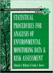 Statistical Procedures for Analysis of Environmental Monitoring Data and Risk Assessment