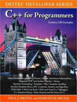 C++ for Programmers (Deitel Developer Series)