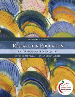 Research in Education: Evidence-Based Inquiry