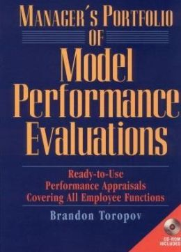 Manager's Portfolio of Model Performance Appraisals