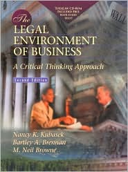 The Legal Environment of Business: A Critical Thinking Approach with Total Law CD-ROM