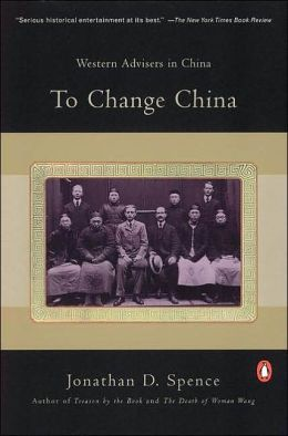 To Change China: Western Advisers in China