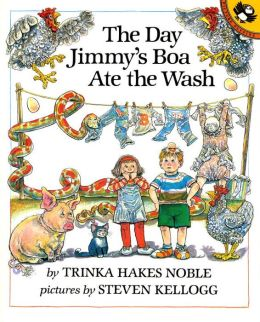 The Day Jimmy's Boa Ate the Wash