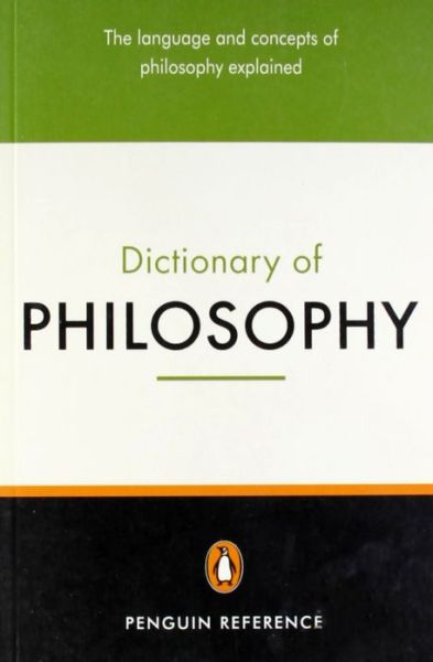 Free download ebooks for j2me The Penguin Dictionary of Philosophy