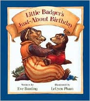 Little Badger's Just-About Birthday (Little Badger Series)