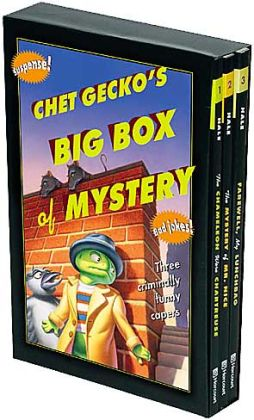 Chet Gecko's Big Box of Mystery: Three Hilarious Capers: The Chameleon Wore Chartreuse, The Mystery of Mr. Nice, and Farewell, My Lunchbag