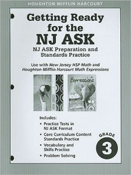 Harcourt School Publishers Math: Ask Preparation&Standards Practice Student Edition Grade 3